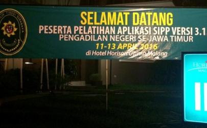 Sosialisasi Update SIPP 301 ke SIPP 311-1 di Kota Malang
