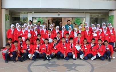Liputan Kegiatan Jurnalis Junior Oleh Jawa Pos - Radar Kediri