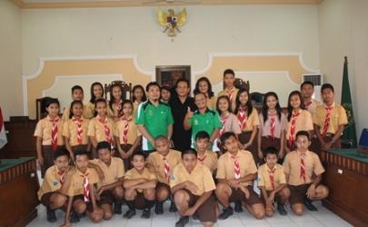 Observasi SMP Mardiwiyata Ke Pengadilan Negeri Kediri