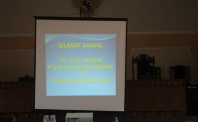 Kunjungan Pengadilan Negeri Jombang Ke Pengadilan Negeri Kediri