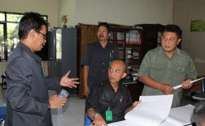 Pemeriksaan Rutin Ketua Pengadilan Kediri