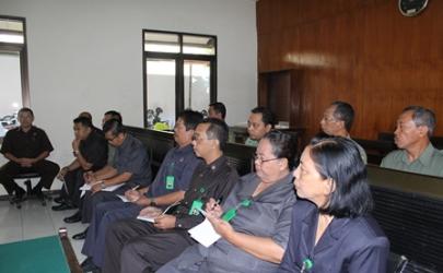 Program Kerja Ketua Pengadilan Negeri Kediri